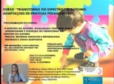 O curso terá duração de 20 horas. Com certificado. Inscrições na clínica MEDFISIO ( segunda à sexta- feira)